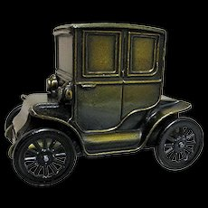 SOLD    See other Banks For SALE    Car Bank 1910 Baker Electric Car Cast Metal