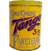 TANGO Cigar Advertising Tin