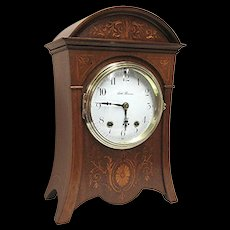 Antique Seth Thomas Inlaid Mantel Clock