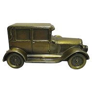 Car Bank Cast Metal  1924 Chrysler