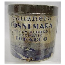Advertising Tobacco Tin For Gallaher's Connemara