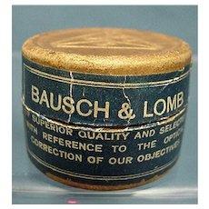 Advertising Bausch & Lomb Cover Glasses in Original Box Drugstore Pharmacy