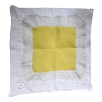 Hankie pair of Hanky Linen and Lace Handkerchief