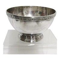 Compote American Silverplate 1875-1916