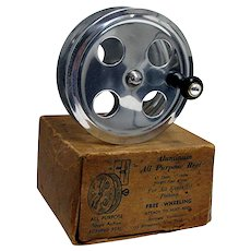 Fly Fishing Reel In Original Box Made By Bernard Goldweber New York
