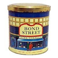 Advertising Tobacco Tin For Bond Street Tobacco
