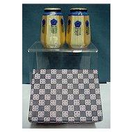 Salt and Pepper  Luster Ware Shaker Set Mint Lusterware in Original Box
