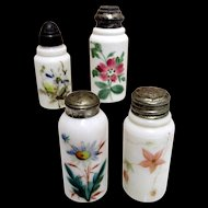 American Glass Shakers Four Different