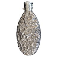 Gorham Flask Repousse Sterling Silver