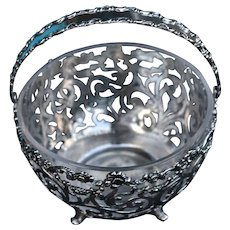 J.E. Caldwell & Co, Philadelphia sterling silver bowl with insert
