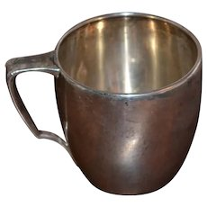 Tiffany & Company sterling silver child's mug