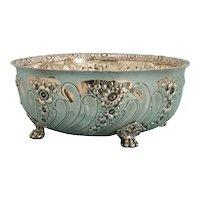 Fancy Tiffany & Co Sterling Silver 6 Pint Bowl