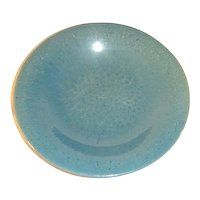 Antique Chinese Qing Dynasty Celadon Glazed Stoneware Plate.