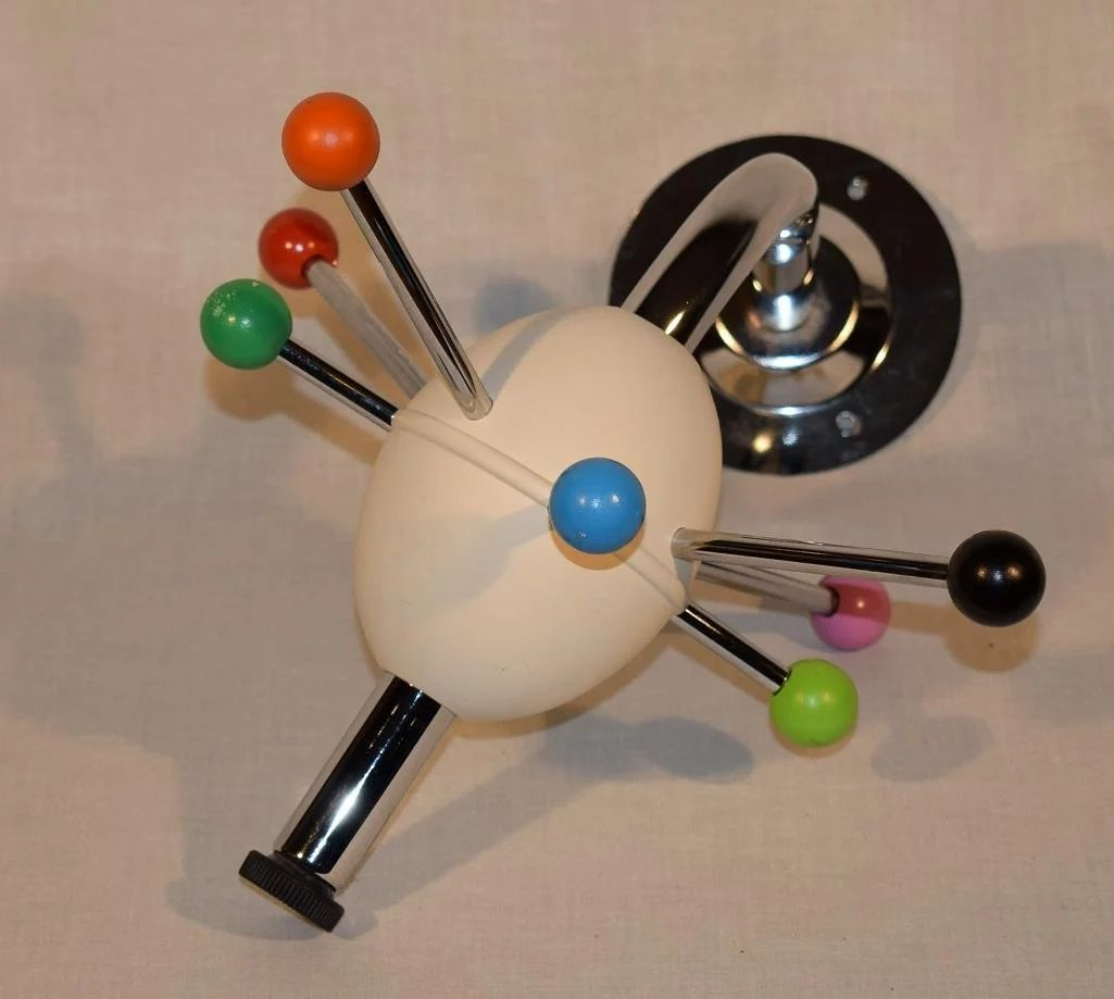 Mid Century Modern Atomic Sputnik Coat Rack Designed By