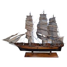 "Wooden Scale Model Ship ""Cutty Shark"" 1869."