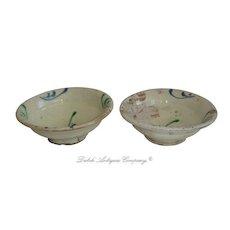 Chinese Tang Dynasty Sancai Glazed Bowl.