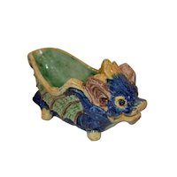 Chinese Tang Dynasty Sancai Dragon Brush Washer our Bowl.