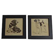 Diana Thorne Prints Framed Pair