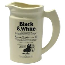 Vintage Buchannan's Blended Scotch Whisky Water Pitcher