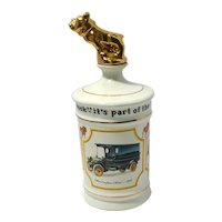 Mack Truck 75th Anniversary Liquor Decanter with Bulldog Top First Issue c. 1975