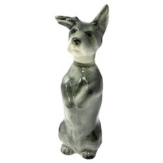 Terrier Dog Decanter Ramses Germany c.1960's