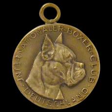 Vintage International Boxer Club Medal Deutschland