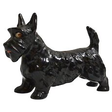 Vintage Chalkware Scottish Terrier