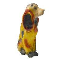 Large Vintage Chalkware Spaniel Dog c.1930's