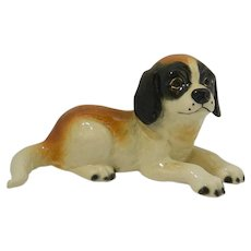 Goebel Saint Bernard Reclining Puppy Figurine 1979-1990