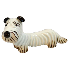 "Walter Bosse for Metzler & Ortloff Terrier Dog 4"" Germany 1927-1930"