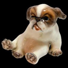 Dahl- Jensen Porcelain Pekingese Puppy Dog #1134