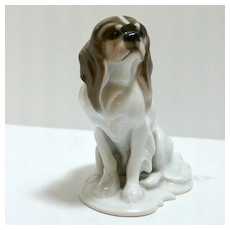 Early Rosenthal Cavalier King Charles Spaniel c.1919-1935