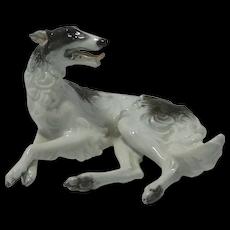 Vintage Rosenthal Borzoi Dog F. Heidenreich