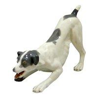 Vintage Gebruder Heubach Porcelain Dog 1882-1938