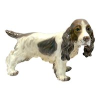 Dahl Jensen Porcelain Cocker Spaniel Dog