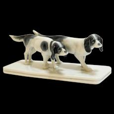 Metzler & Ortloff Pointer Dog Pair c. 1950's