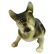 Royal Dux Bohemia Boston Terrier Dog Figurine