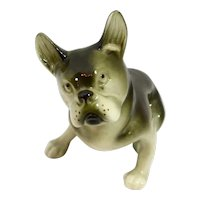 Royal Dux Bohemia Boston Terrier Dog Figurine