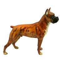 Goebel Boxer Dog Figurine c. 1968