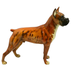 Goebel Boxer Dog Figurine c. 1968