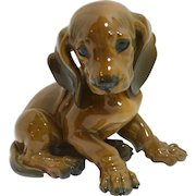 Rosenthal Dachshund Puppy T. Karner #1247