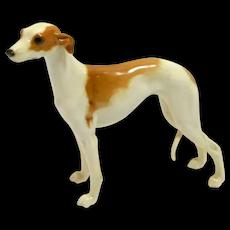 Elegant Hutschenreuther Porcelain Whippet Figurine