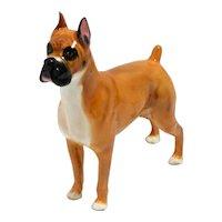 Royal Doulton Boxer Dog Retired #HN2643