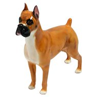 Royal Doulton Boxer Dog Retired #HN2643