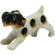 Occupied Japan Terrier Dog Figurine c. 1945-1952