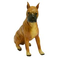 Vintage Mortens Studio Adult Boxer Dog c. 1930's - 1940's