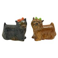Goebel Yorkshire Terrier Dog Pair