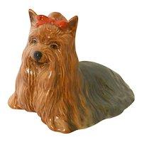 Vintage Beswick Yorkshire Terrier Figurine
