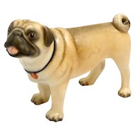 "Herend ""Lola"" Natural Color Pug Dog"
