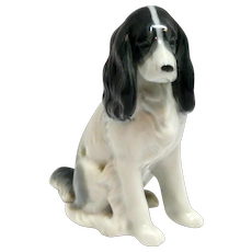 Metzler and Ortloff Spaniel Dog Figurine